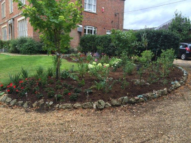 Project web projects for Herbaceous border design examples